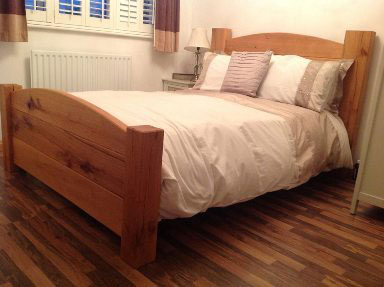 solid oak bed essex brentwood