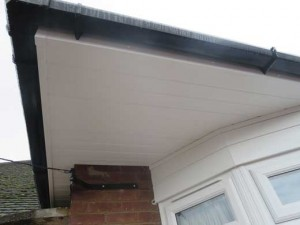 Bay window soffits and cladding