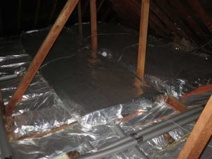 Adding on an extra 200mm of insulation