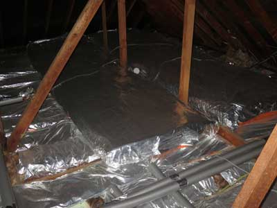 insulate water pipes