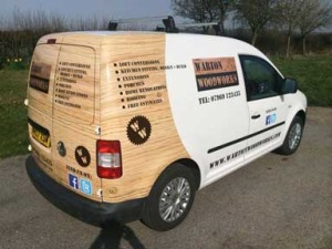 signs express van graphics in basildon
