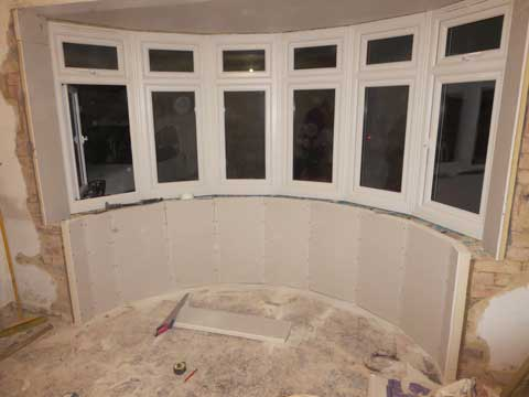 how to insulate a bay window how to insulate a single skin wall. Black Bedroom Furniture Sets. Home Design Ideas
