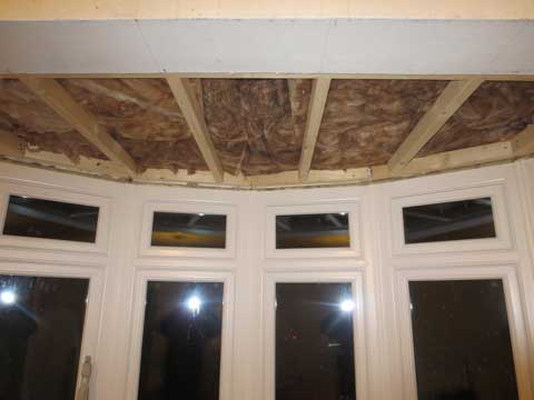 How to insulate a bay window how to insulate a single for Best insulated glass windows