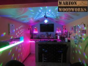 custom bar interior