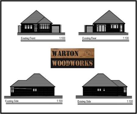 loft conversion technical drawing