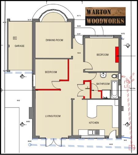 loft conversion plan drawing