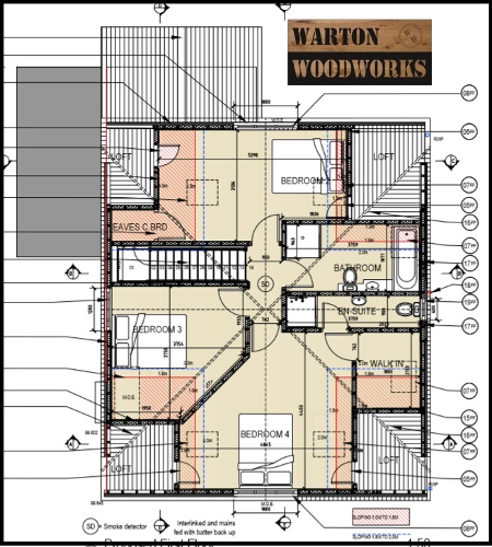 loft conversion upstairs plan