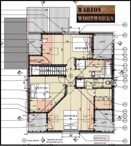 loft conversion upstairs plan