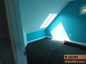 loft conversion bedroom fire escape velux