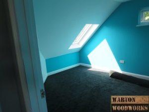 loft conversion bedroom fire escape velux