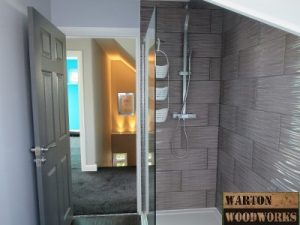 hip to gable loft conversion main bathroom