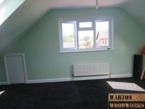 hip to gable loft conversion bedroom