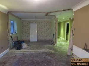 loft conversion living room renovation