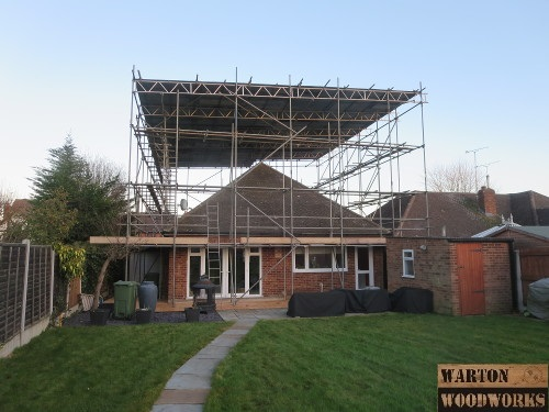 Bungalow Hip To Gable Loft Conversion Project Step By