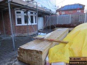 new joists for hip to gable conversion