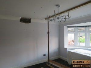 loft conversion concrete pad installation
