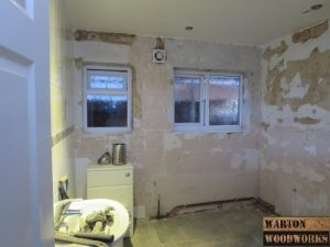 removal of bathroom