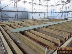 loft conversion wooden joists