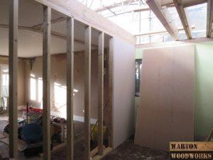 hip to gable renovation