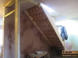 loft conversion stair case installation