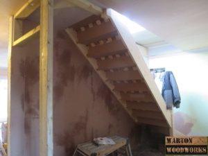 loft conversion stair case installation
