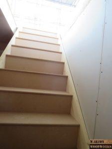 hip to gable bungalow loft conversion staircase