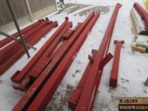 bungalow hip to gable loft conversion steels