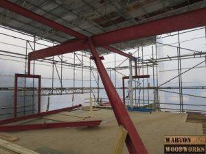 hip to gable loft conversion steel structure