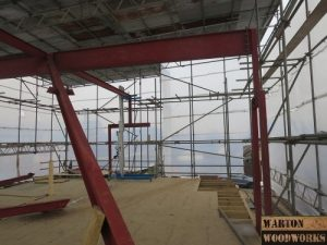 hip to gable to loft conversion steel structure