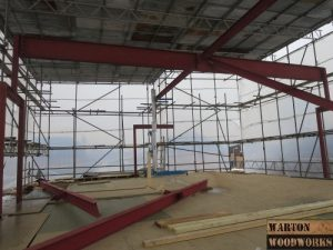 hip to gable roof construction