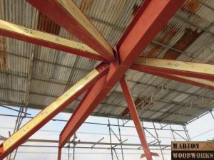 bungalow hip to gable loft conversion steel structure