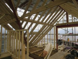 hip to gable roof conversion for bungalow