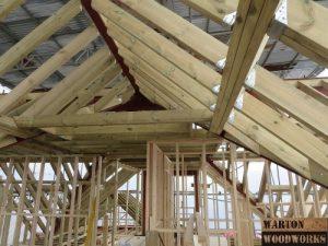 Loft conversion roof structure