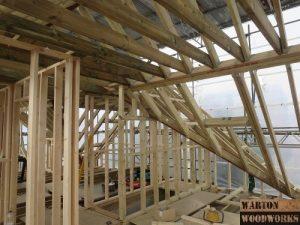 loft conversion internal roof structure