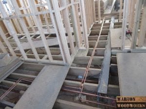hip to gable hallways plumbing