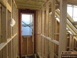hip to gable loft conversion hallway