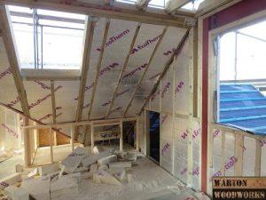 hip to gable loft conversion insulation