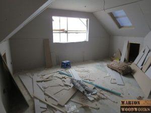 Master bedroom loft conversion