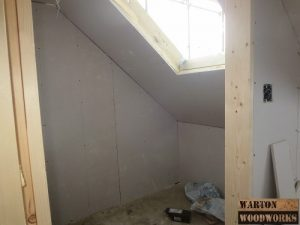 loft conversion walk in wardrobe