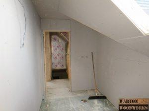 main bathroom hip to gable conversion