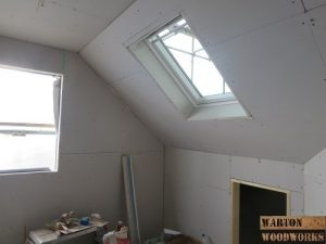 hip to gable velux roof window