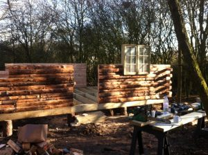 wooden bespoke log cabins in essex
