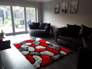 hip to gable living room renovation finished