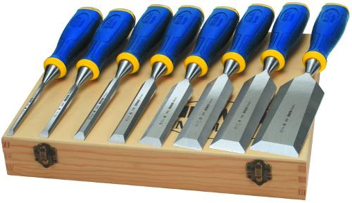 Door handle chisel set
