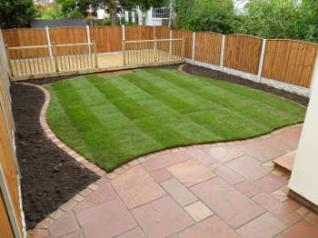 how to clean a garden patio advice scrubbing jet washing. Black Bedroom Furniture Sets. Home Design Ideas