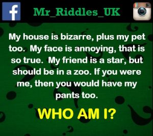 who am i riddles
