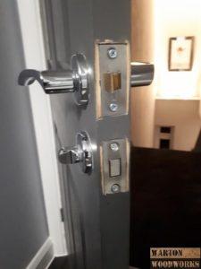 New door handle and latch