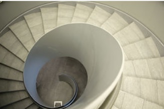 different types of staircases for the home