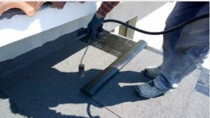 how to repair an old felt roof