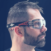 safety glasses for hot felt roofing